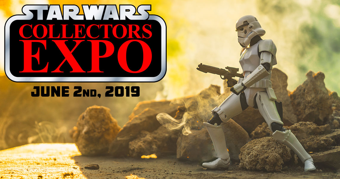 Star Wars Collectors Expo 2019 will be June 2nd in Mississauga Ontario