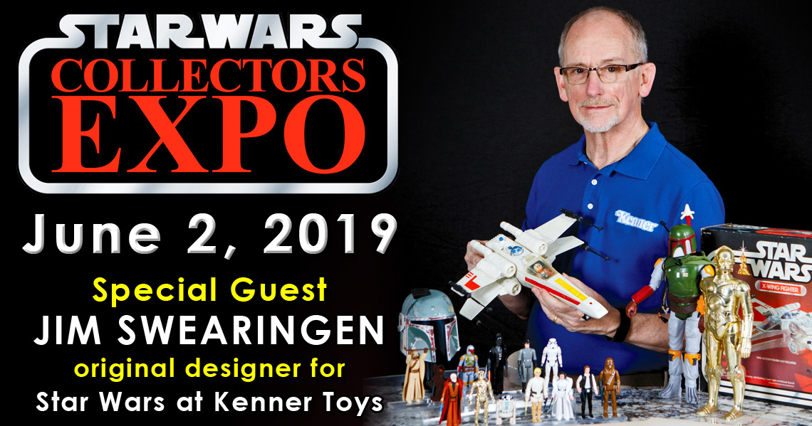 Meet Kenner Star Wars Designer Jim Swearingen at Star Wars Collectors Expo 2019