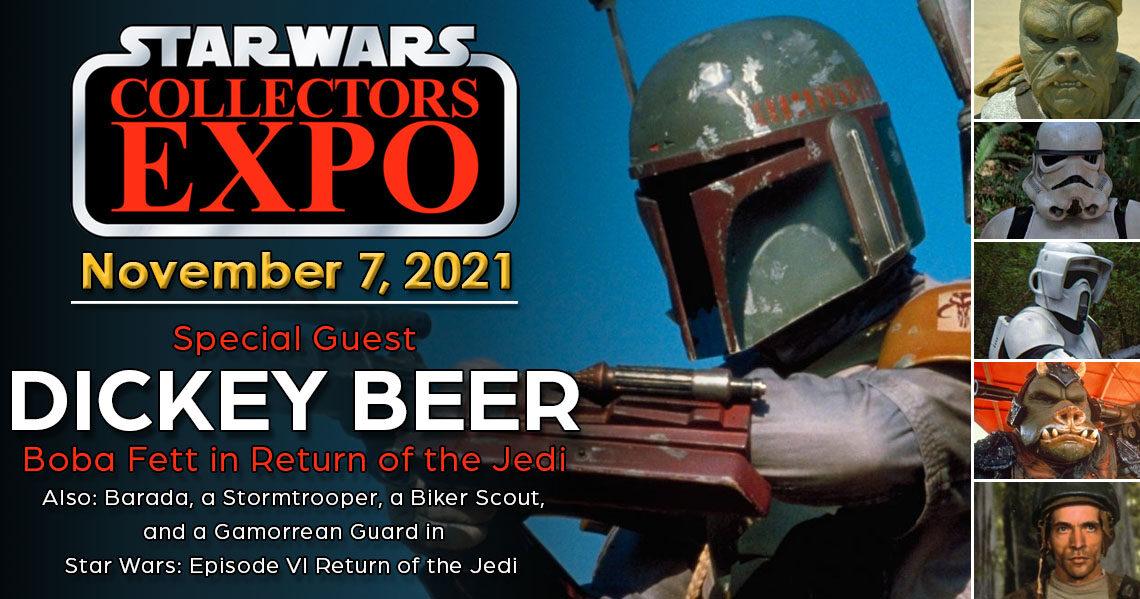 Meet Dickey Beer Boba Fett at Star Wars Collectors Expo 2021